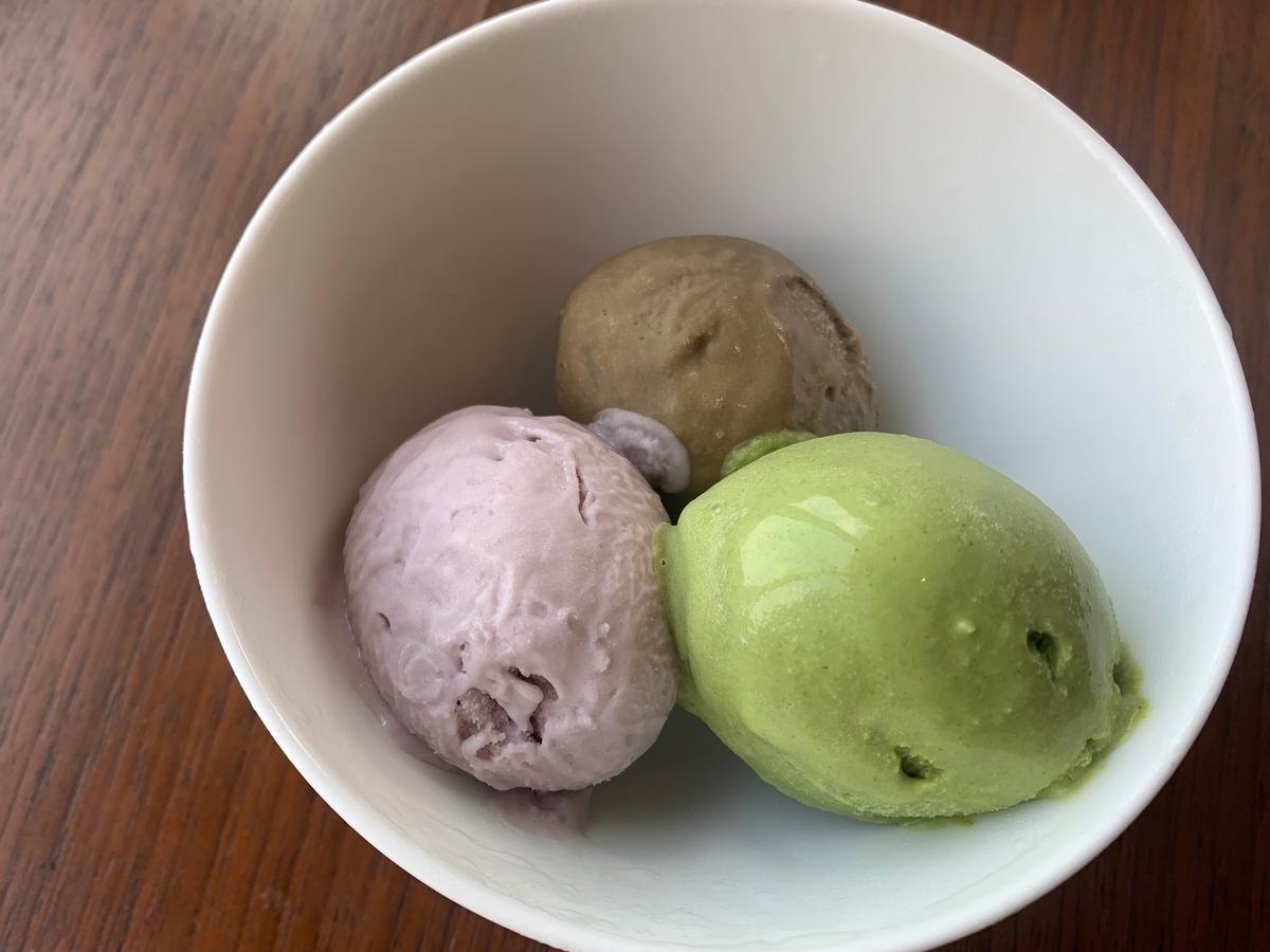 アイスクリーム、デザート