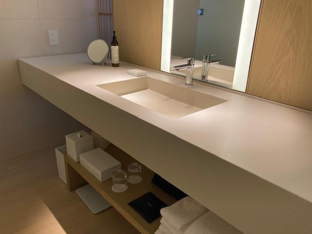 洗面台、東京エディション