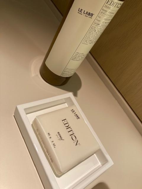 石鹸、ハンドウォッシュ、東京エディション