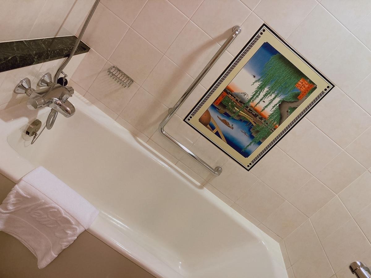 お風呂、ホテルニューオータニ