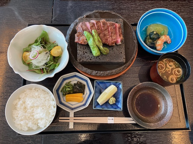 和牛サーロイン、御膳、パークホテル東京