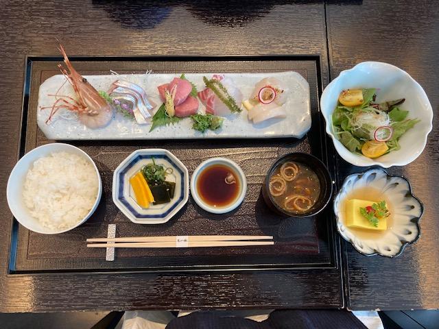 刺身、御膳、パークホテル東京