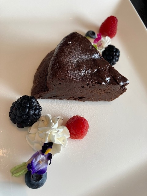 ガトーショコラ、デザート、パークホテル東京