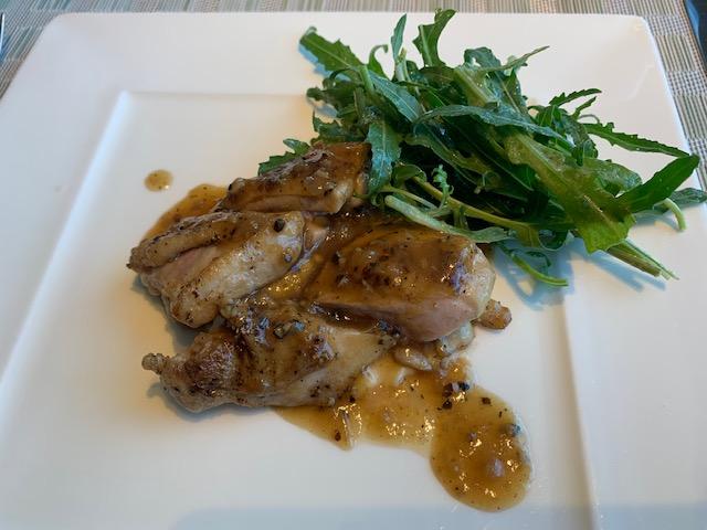鶏のグリル、本日の肉料理