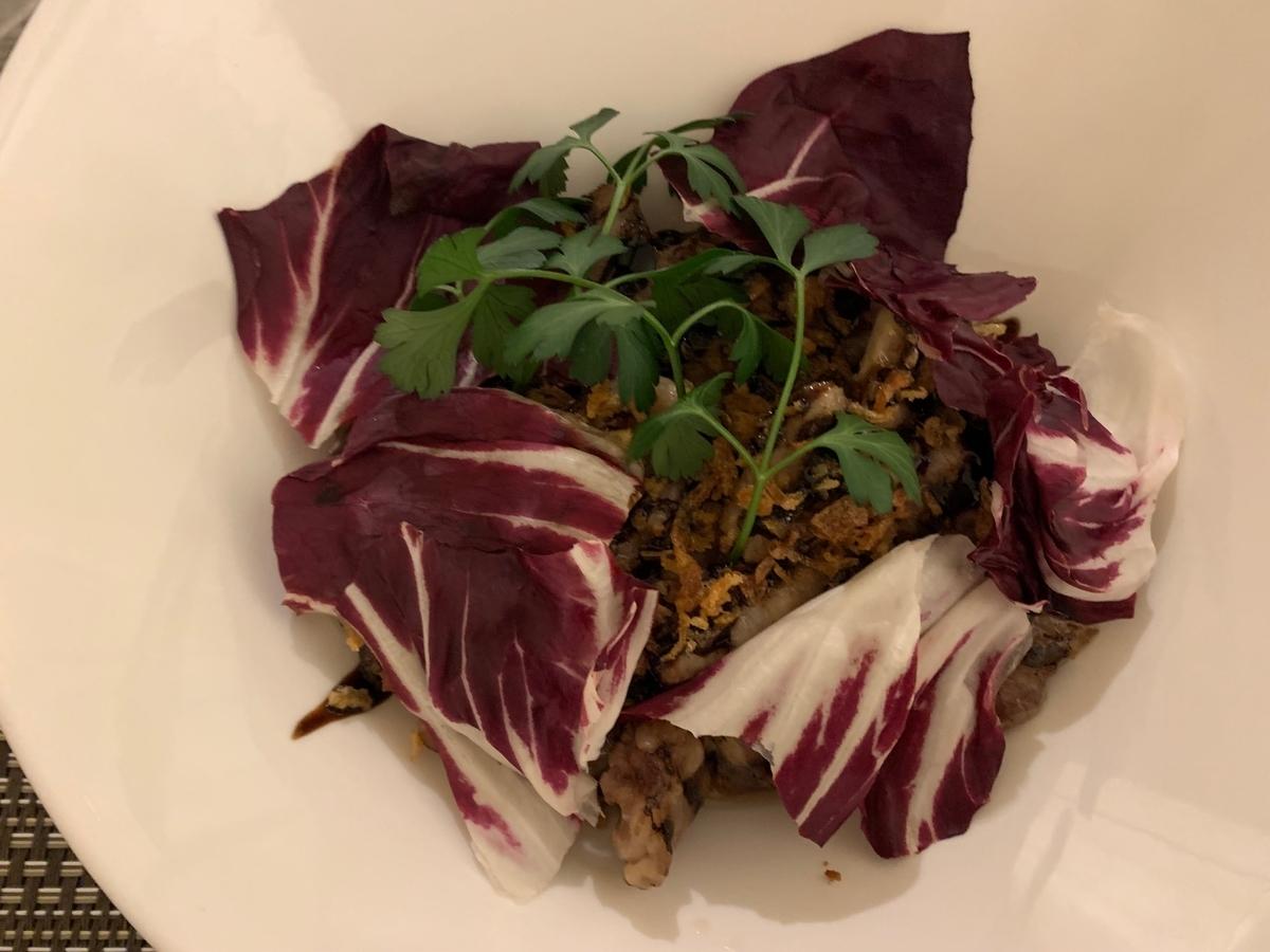 イベリコ豚のグリル、肉料理、グランドニッコー