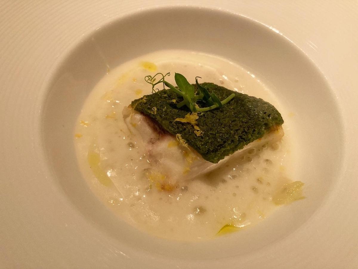 真鯛のグリル、魚料理、あさり