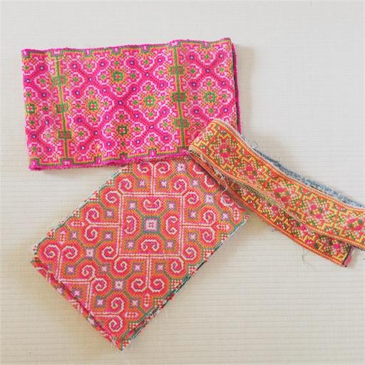 モン族 刺繍