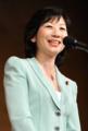 野田聖子さん,50歳で無事男の子を初産