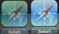 The new iPad Retina ディスプレイ アイコン