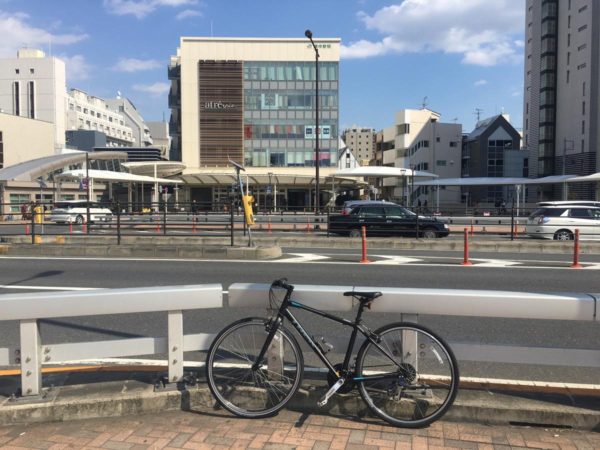 東中野駅前