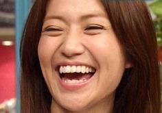 大島優子2014年8月の歯並び
