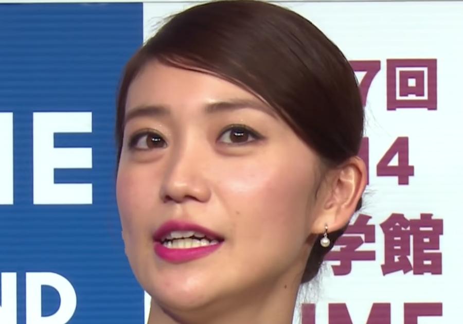 大島優子2014年11月の歯並び