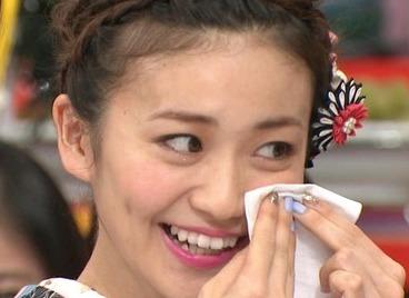 大島優子2015年1月の歯並び