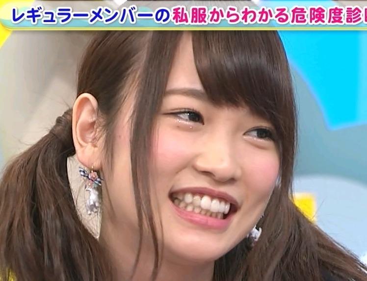 川栄李奈2014年7月の歯並び