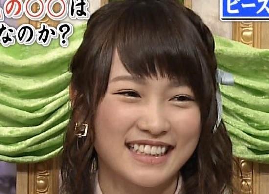 川栄李奈2015年3月の歯並び