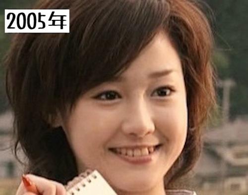 沢尻エリカ2005年あいくるしい出演