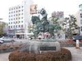 上田駅前 2013.02