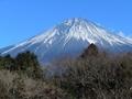 白糸ノ滝で富士山 2018.01.02