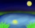 [オリジナル][SAI][背景][月夜]月夜