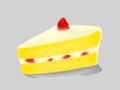[SAI][オリジナル][食べ物][ショートケーキ]ショートケーキ