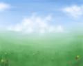 [オリジナル][SAI][風景]草原と雲