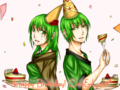 [SAI][誕生日][版権]9/5、9/6 Happy Birthday! Croi&Lead!!(智草さんのキャラhttp://tearains.tobiiro.jp/)