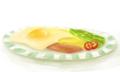 [SAI][食べ物][朝食][目玉焼き][卵焼き][厚塗り]朝食