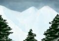 [SAI][オリジナル]雪山と木