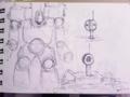 [ボールペン]ロボット
