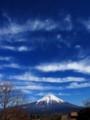 [山][空][富士]富士と空
