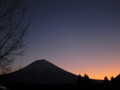 [山][日の出][朝焼け][富士]富士の朝焼け