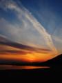 [夕焼け]須磨の夕陽