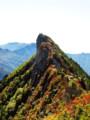 [紅葉][山]石鎚山
