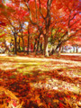 [紅葉]盛岡城跡公園