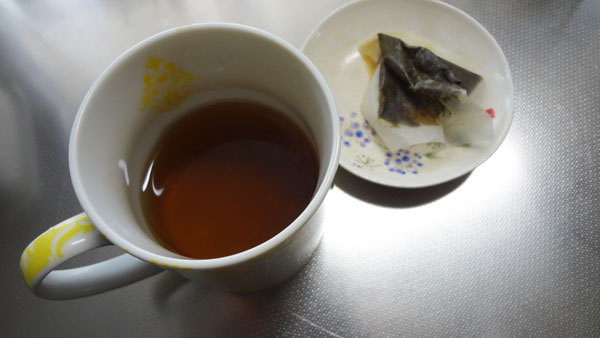 甜茶を飲んでみた