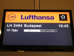 ブダペスト行き