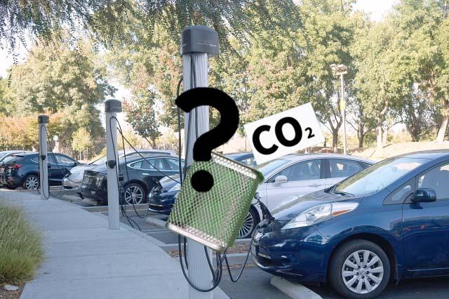 電気自動車と二酸化炭素(CO2)排出量