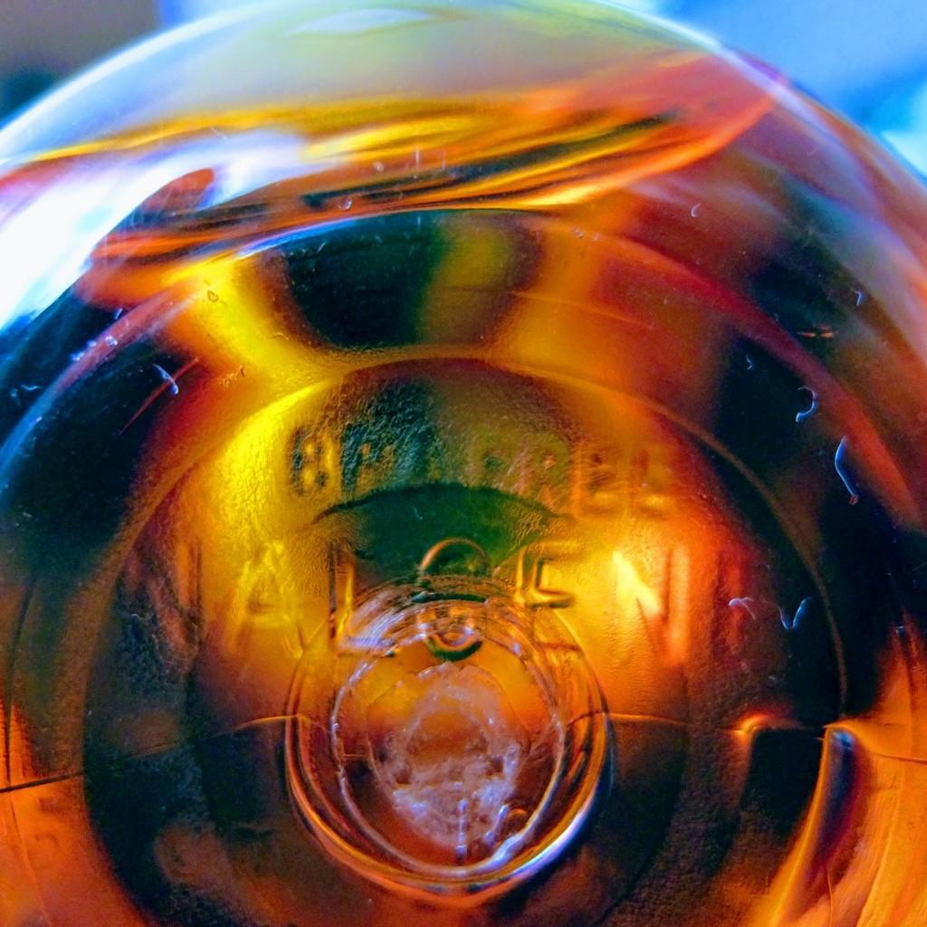 nalgene(ナルゲン)広口0.5lの底面に「BPA FREE」の文字