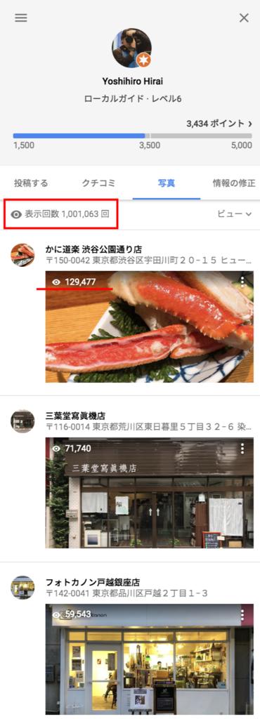 Googleローカルガイドで100万PV突破!