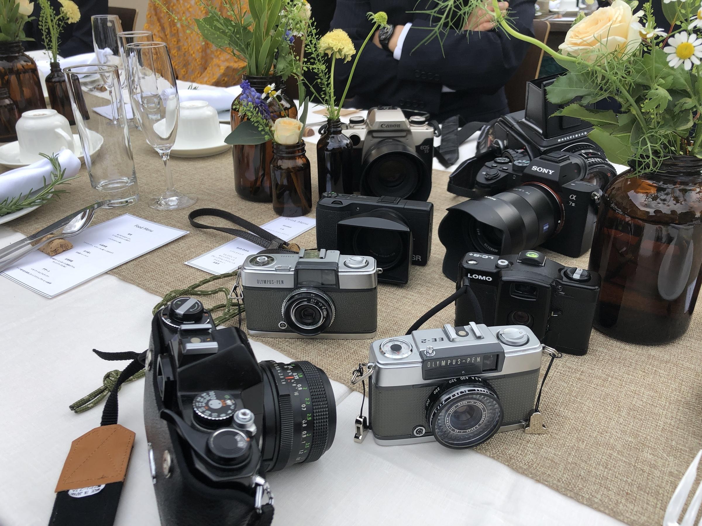 フィルムカメラ大集合