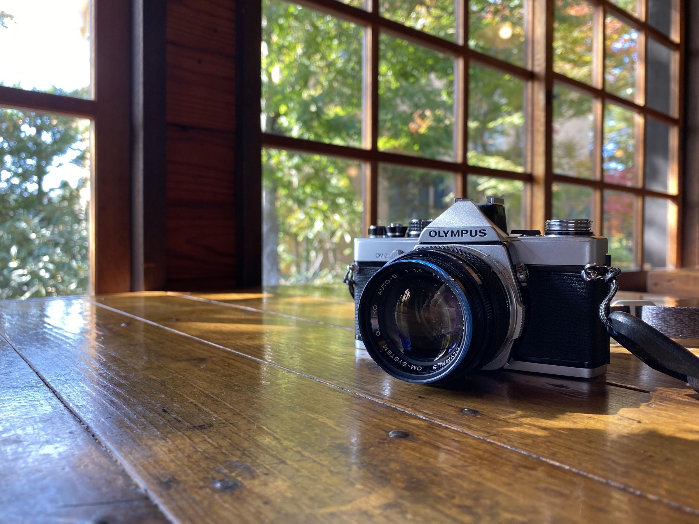 フィルムカメラ一眼レフOM-2