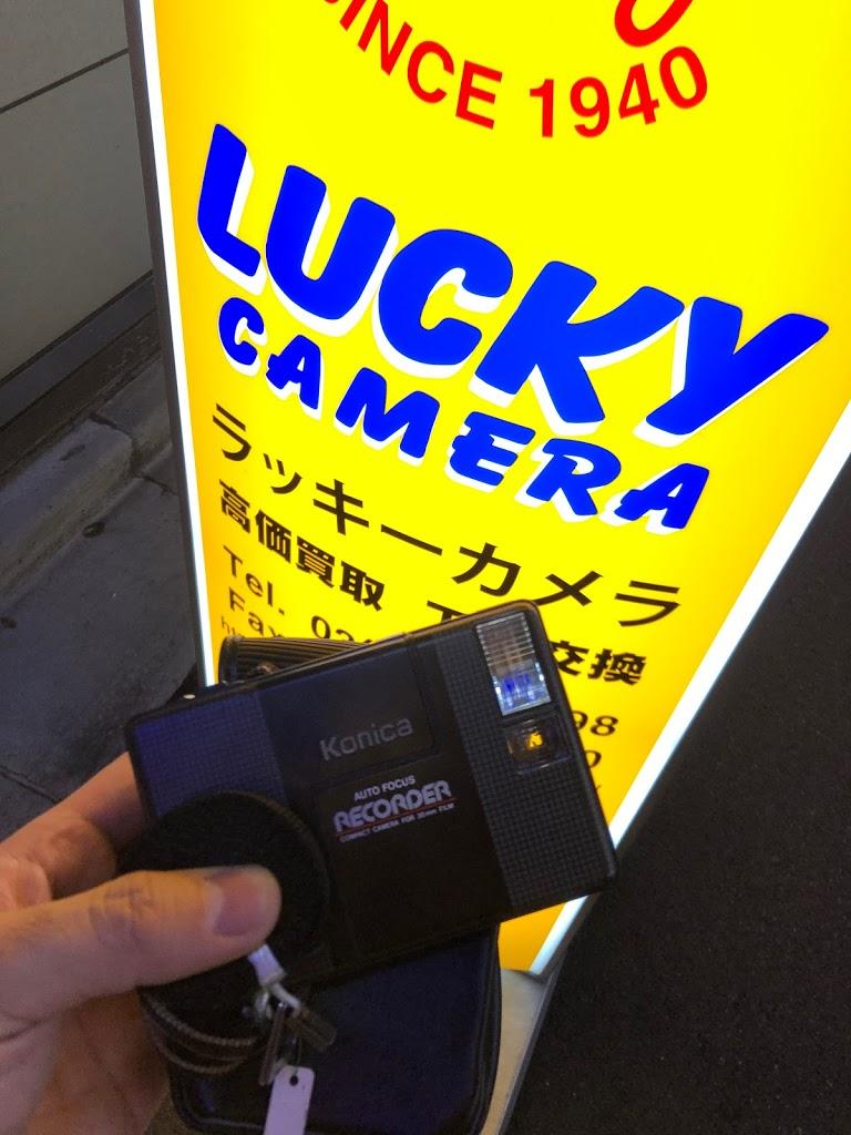 ハーフサイズカメラのコニカ レコーダー KONICA RECORDER