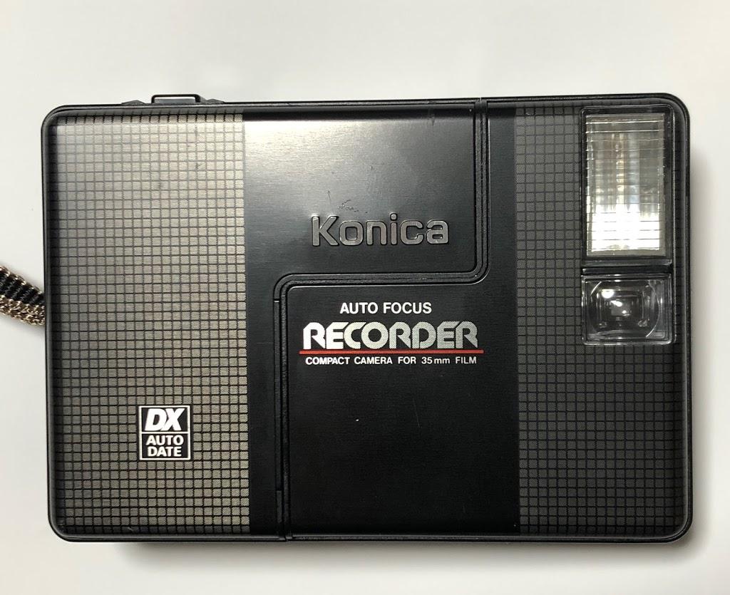 購入したコニカ レコーダー KONICA RECORDER外観