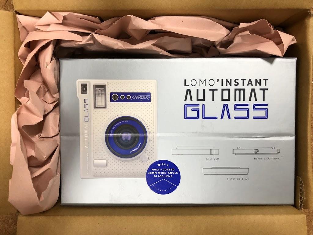 届いた、Lomo'Instant Automat Glass (Kilimanjaro Edition)
