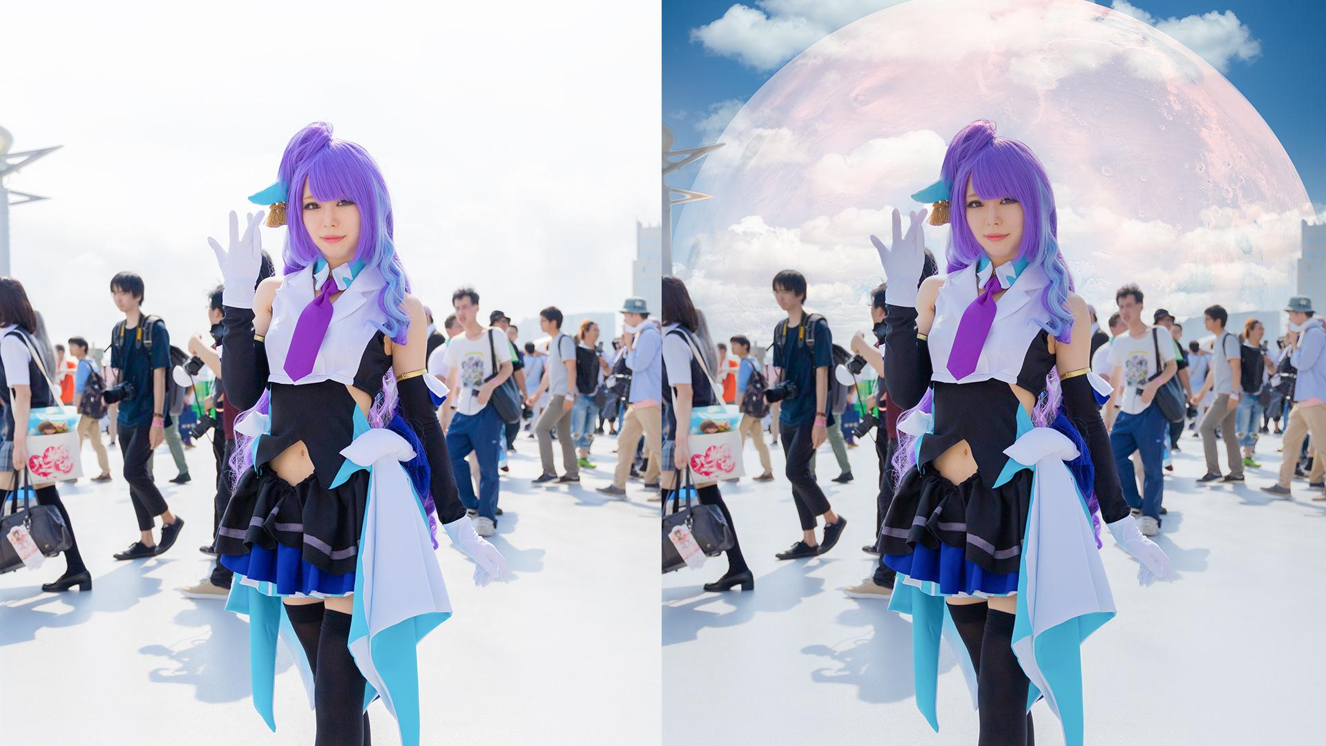【1,000円割引クーポンあり】話題のルミナー4(Luminar 4)でコスプレ写真をレタッチしてみた!ルミナー4(Luminar4)とコスプレ写真の相性は?