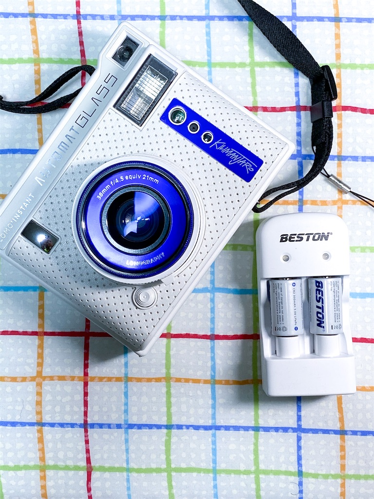 チェキ電池用にBESTONの充電池と充電器BST-(CD643+CR2)を購入してみた