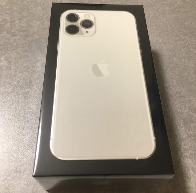iPhone 11 Pro の箱