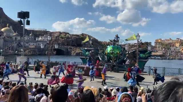 【東京ディズニーシー】ハロウィーン2019「フェスティバル・オブ・ミスティーク」