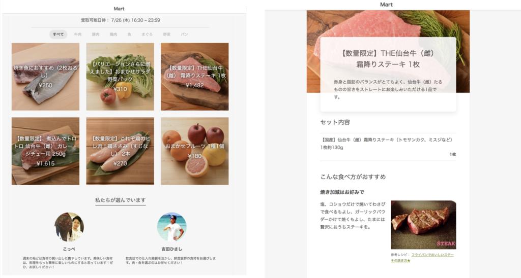 Webアプリケーションの画面