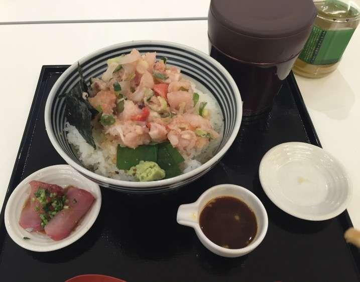 つじ半の海鮮丼:plain